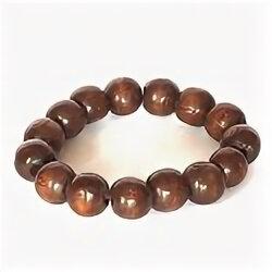 Браслеты - Браслет - из дерева коричневые 10мм, 0