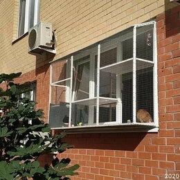Когтеточки и комплексы  - Выгулы на окна для кошек, 0