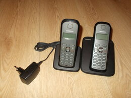 Проводные телефоны - Радиотелефон Siemens + дополнительная трубка, 0