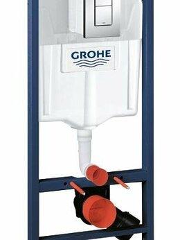 Комплектующие - Инсталляция для унитаза Grohe 38772001 Rapid SL…, 0