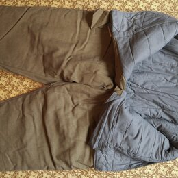 Одежда - Рабочие штаны на ватине, СССР, новые, рост 158-164, 0
