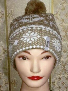 Головные уборы - Вязаная зимняя шапка от Каляев для подростка, 0