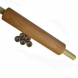 Скалки - Скалка деревянная длинная., 0