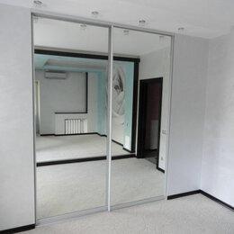Шкафы, стенки, гарнитуры - Раздвижные двери-купе. Зеркальные., 0