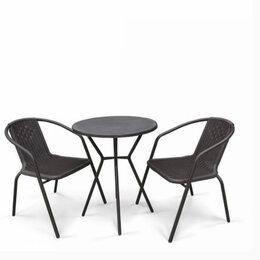 Комплекты садовой мебели - ОБЕДЕННЫЙ КОМПЛЕКТ АСОЛЬ-5 LRC01/LRT01-D60, 0
