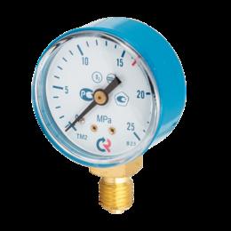 Элементы систем отопления - Манометр ТМ-210Р 1МПа М12*1,5 О2, 0