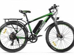 Мототехника и электровелосипеды - Электровелосипед Eltreco XT 850 new черно-зеленый, 0
