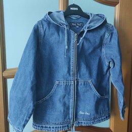 Куртки и пуховики - Куртка джинсовая на девочку размер , 0