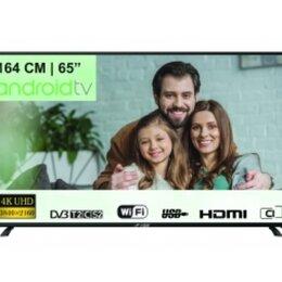 Телевизоры - Телевизор 4К 165 см Android TV, 0