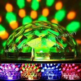 Новогодний декор и аксессуары - Диско-шар 56 светодиодов, 0