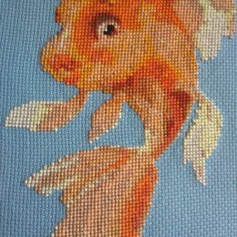 Картины, постеры, гобелены, панно - Золотая рыбка, 0