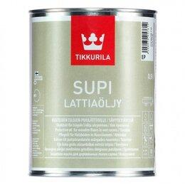 Масла и воск - Supi Lattiaoljy масло для пола, 0