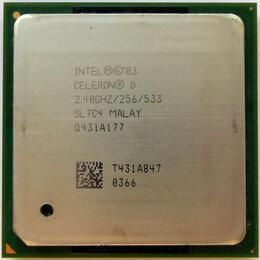 Процессоры (CPU) - Процессор Celeron D 2.40 Ghz 256/533 Socket 478, 0