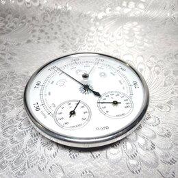Метеостанции, термометры, барометры - Метеостанция 3 в 1 барометр термометр гигрометр, 0