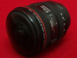 Объективы - Canon EF 8-15mm f/4.0L Fisheye USM (гарантия, чек), 0