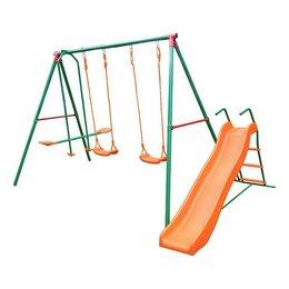 Игровые и спортивные комплексы и горки - Детский уличный комплекс с горкой DFC MSN-01, 0