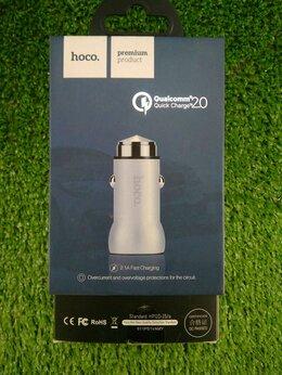 Зарядные устройства и адаптеры - Автомобильное зарядное устройство Hoco Z4 2.1А, 0