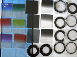 Светофильтры - полный набор для Cokin Р 12 фильтров кольца бленда, 0