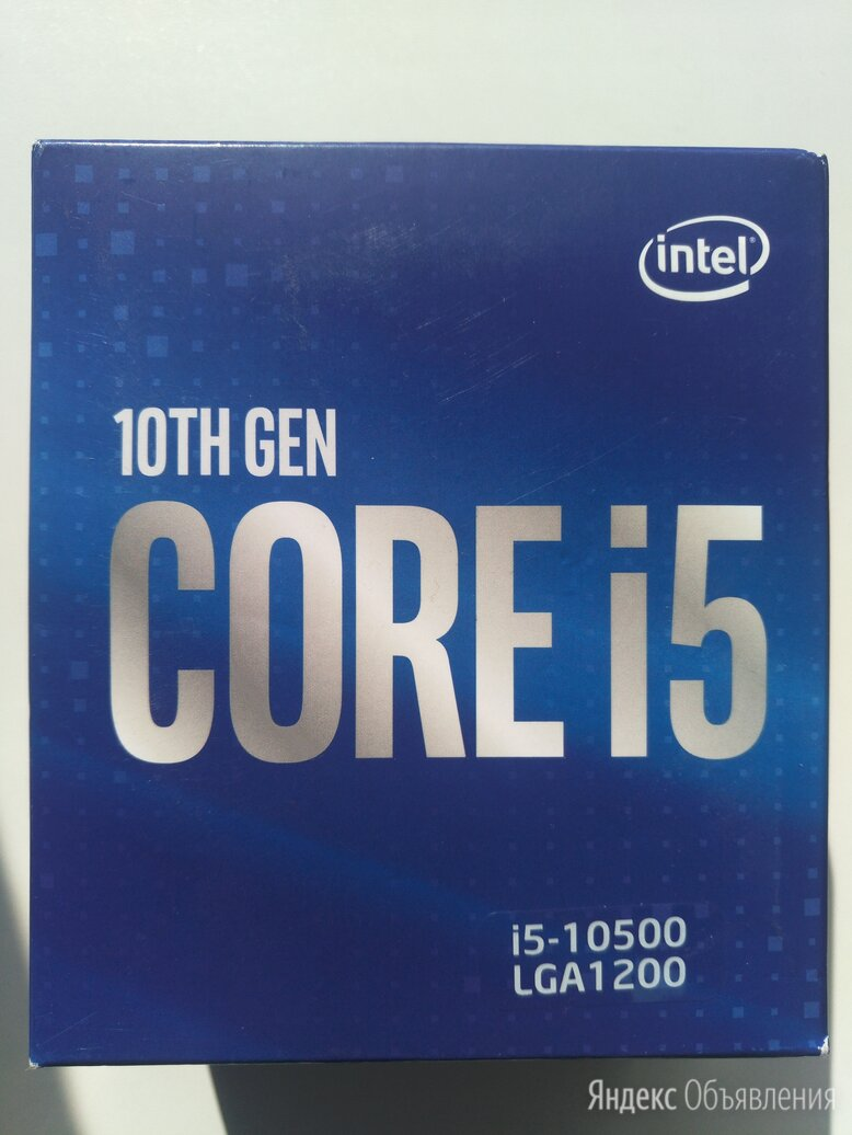 Intel Core i5 10500  по цене 18999₽ - Процессоры (CPU), фото 0