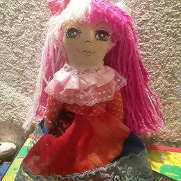 Куклы и пупсы - Кукла самодельная из ткани, 0