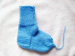 Носки - Вязанные детские носки, 0