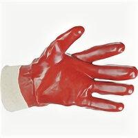Перчатки - Перчатки маслобензостойкие красные (12/120), 0