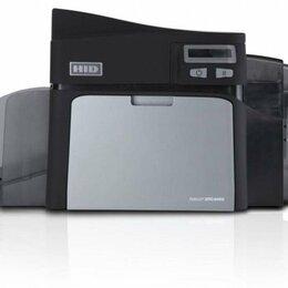 Принтеры чеков, этикеток, штрих-кодов - Принтер для карт Fargo DTC4000, 0