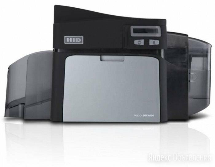 Принтер для карт Fargo DTC4000 по цене 29000₽ - Принтеры чеков, этикеток, штрих-кодов, фото 0