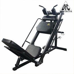 Тренажеры со встроенными и свободными весами - Жим ногами DFC POWERGYM HM028, 0