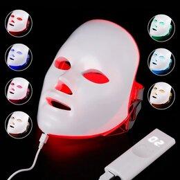 Маски - Led маска для омоложения лица фотонотерапия, 0