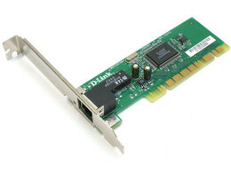 Оборудование Wi-Fi и Bluetooth - сетевая карта PCI Dlink DFE-520TX , 0