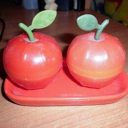 Солонки, перечницы и ёмкости для специй - Набор для специи - яблоки, 0