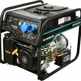 Электрогенераторы - Генератор бензиновый HHY 9020FE ATS (автоматика), 0