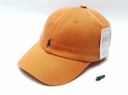 Головные уборы - Бейсболка кепка polo Ralph Lauren (оранжевый), 0