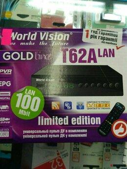 ТВ-приставки и медиаплееры - Приставка World Vision T62A LAN DVB-T2/C сWi-Fi…, 0