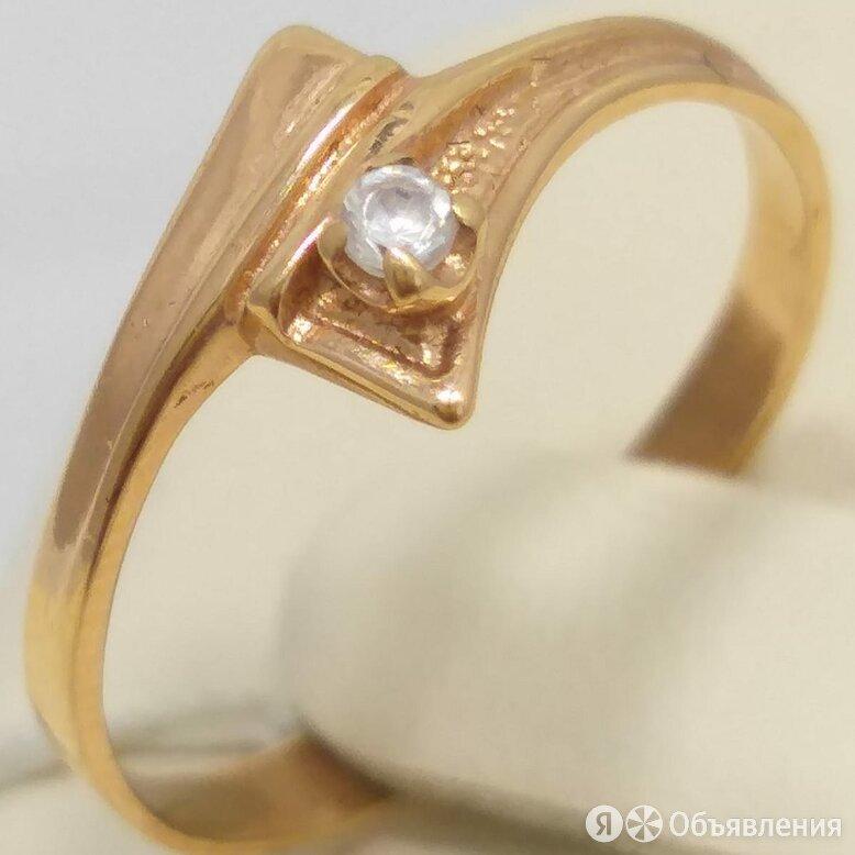 кольцо / размер 16,5 / 1,45г / золото 585 по цене 4349₽ - Кольца и перстни, фото 0