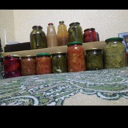 Продукты - Соленья, консервация, закрутки(огурцы, помидоры, салаты, соки)., 0