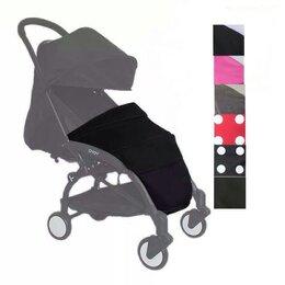 Аксессуары для колясок и автокресел - Новая накидка #3 на ножки (черная, с каркасом), 0