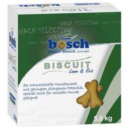 Лакомства  - Bosch Biscuit Lamb Rice 5 кг, 0