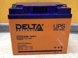 Аккумуляторы и зарядные устройства - Аккумуляторная батарея Delta DTM 1240, 0