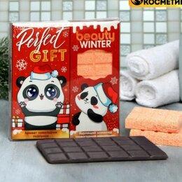 Мыло - Набор Your happy winter: бурлящий шоколад, мыло, 0