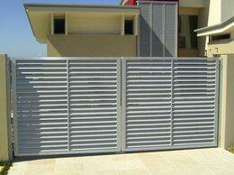 Заборы и ворота - Забор жалюзи металл, 0