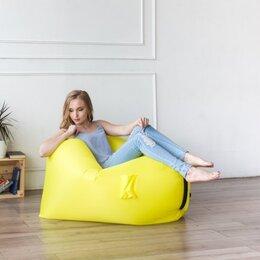Походная мебель - Надувное кресло с карманами Россия желтый, 0