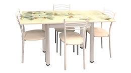 """Мебель для кухни - Обеденная группа """"Стол 2.2 мини"""" (фотопечать…, 0"""