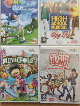 Игры для приставок и ПК - Игры для Nintendo Wii, 0