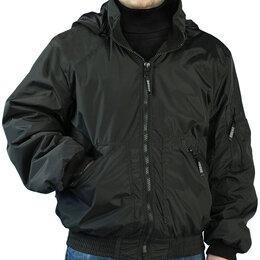 """Куртки - Куртка """"Бомбер"""" демисезонная, черная, 0"""