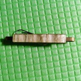 Запонки и зажимы - Зажим для галстука перламутровый винтаж, 0