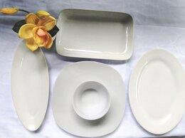 Тарелки - Посуда белая для дома, дачи, кафе, бара, ресторана, 0