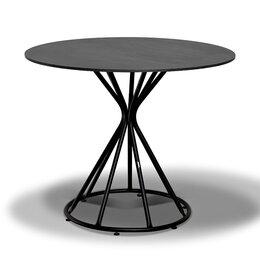 Столы и столики - Обеденный стол круглый 90 см Карлос C0658 -R90-SHT, 0