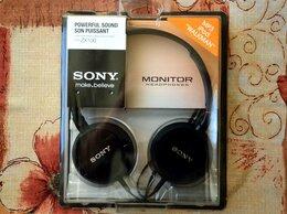 Наушники и Bluetooth-гарнитуры - Новые Наушники Sony MDR-ZX100, 0